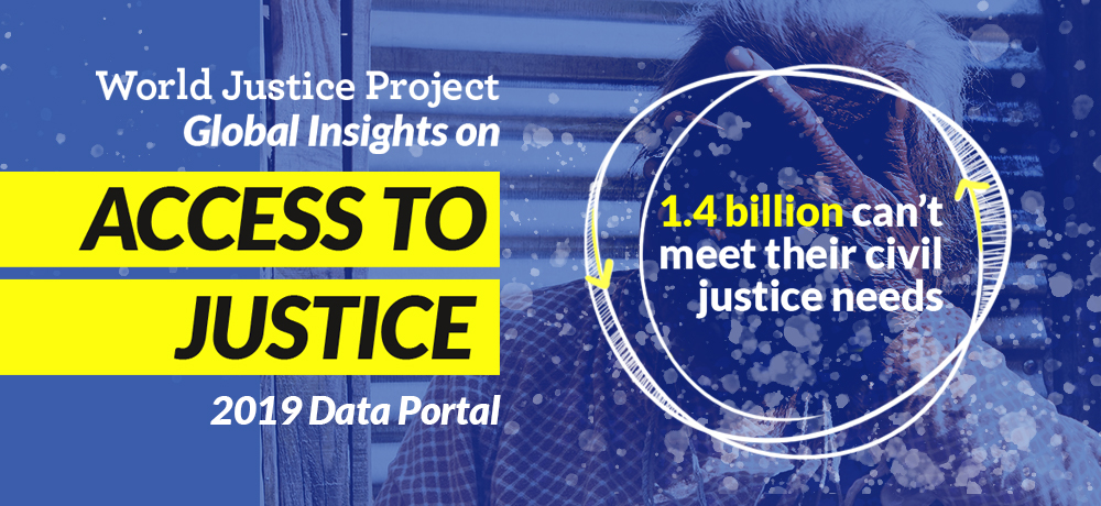 wjp access to justice data portal