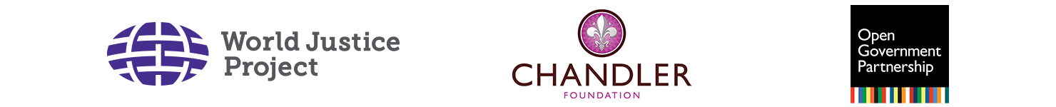 World Justice Project, Chandler Foundation, Open Government Partnership