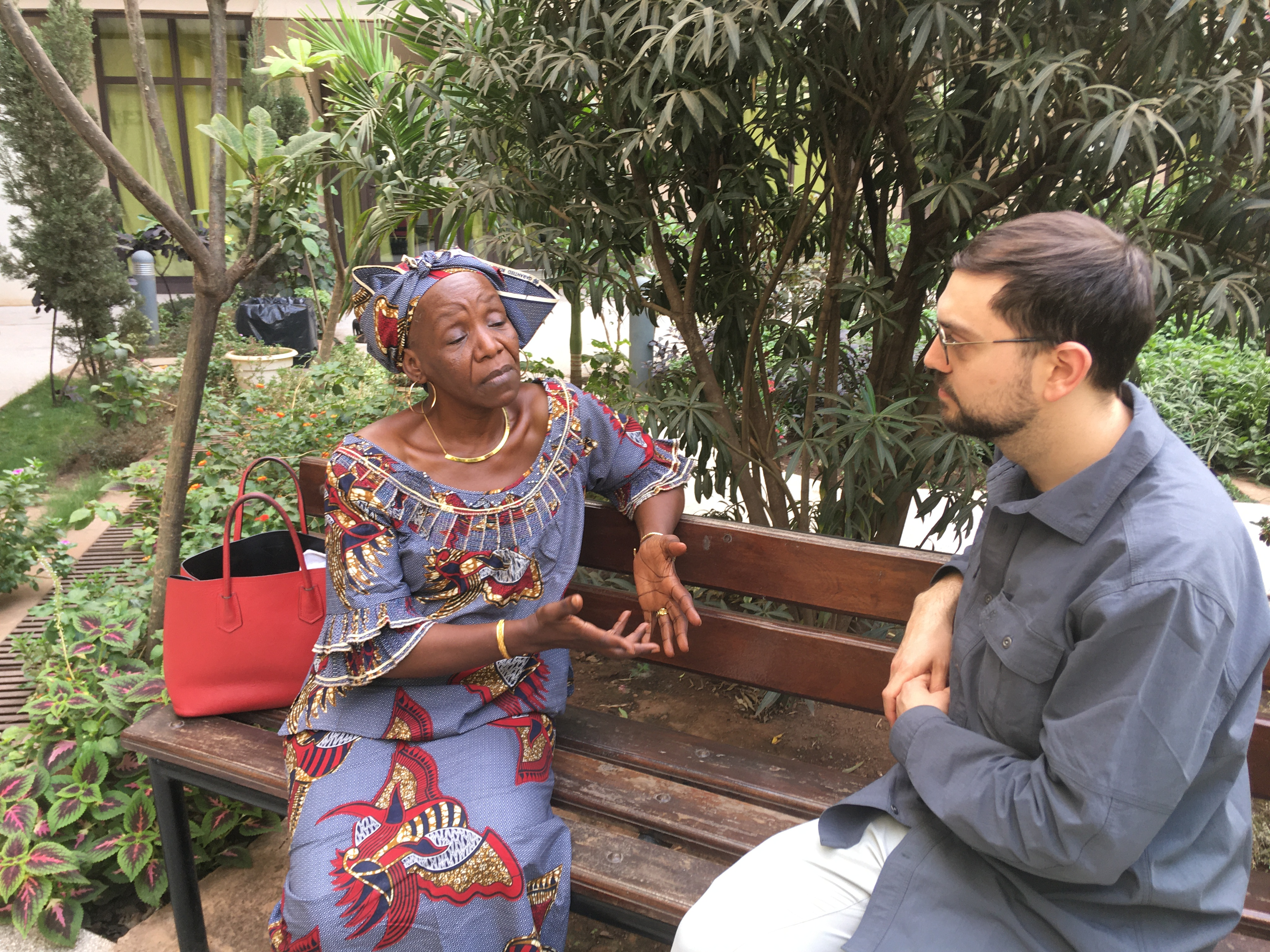 WJP field researcher and ACLS-Mellon Public Fellow Joe Haley converses with Djingarey Maïga, unapologetic feminist and human rights educator.