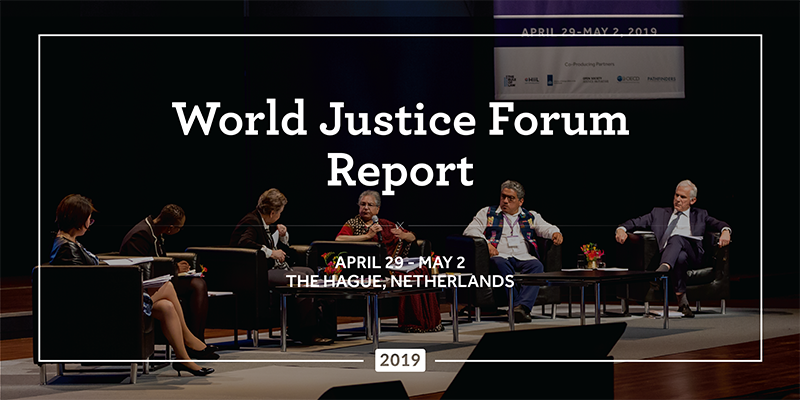 World Justice Forum Report 2019