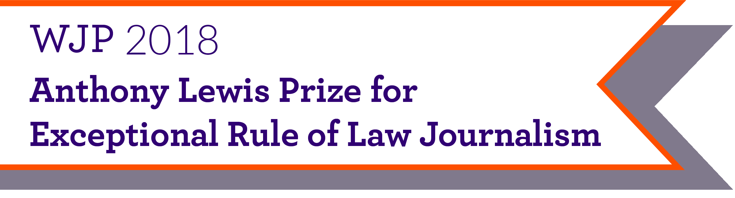 Anthony Lewis Prize for Exceptional Rule of Law Journalism