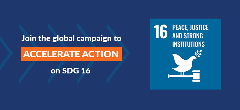 Register your acceleration actions on SDG 16