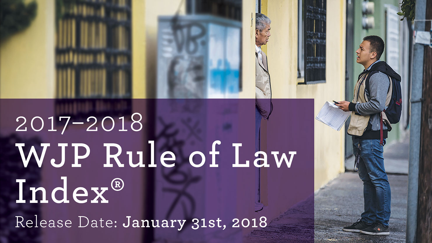 2017-2018 WJP Rule of Law Index