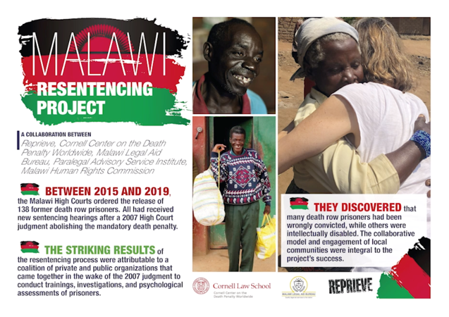 Malawi Resentencing Project poster