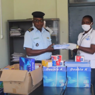 Distributing supplies at a police station to ensure rapid investigation of cases