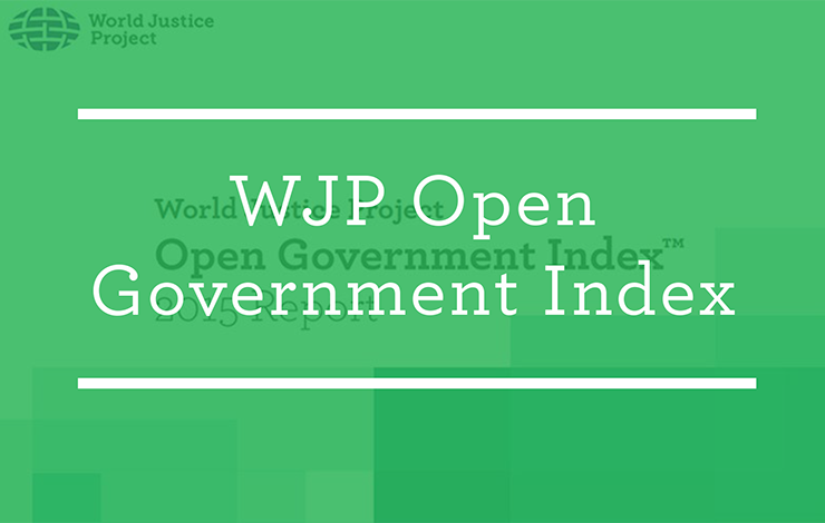 wjp open government index