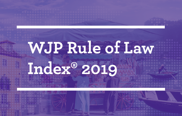 WJP Rule of Law Index 2019