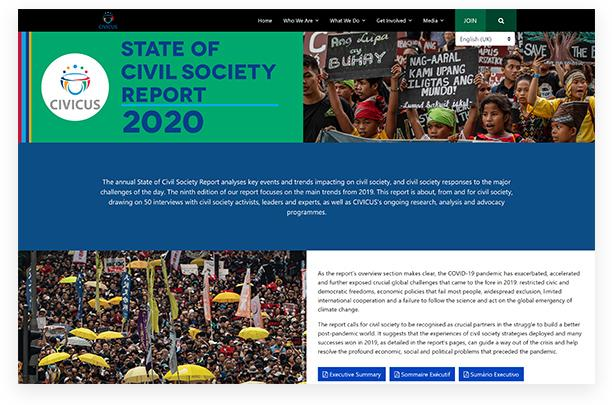 State of Civil Society Report 2020