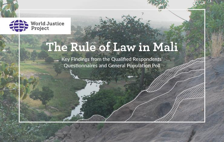 The Rule of Law in Mali