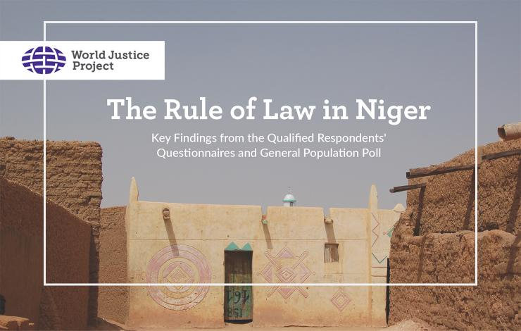 The Rule of Law in Niger