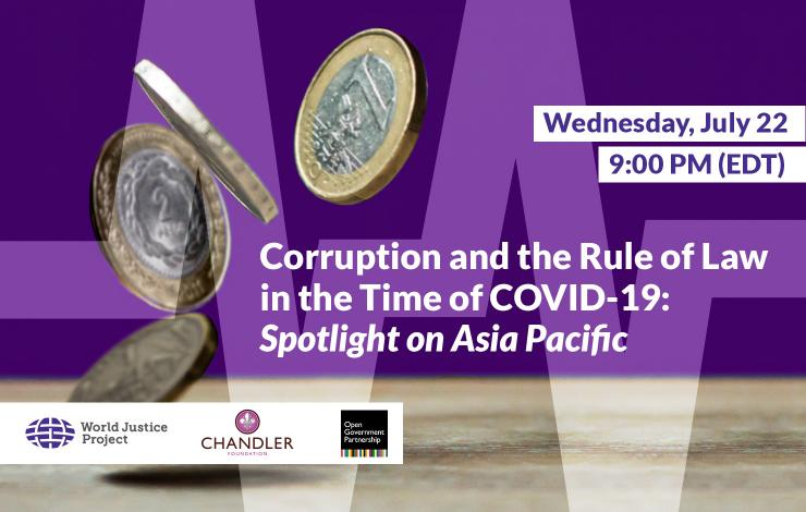 Corruption and the Rule of Law in the Time of COVID-19: Spotlight on Asia Pacific