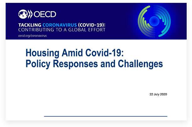 Housing Amid COVID-19: Policy Responses and Challenges