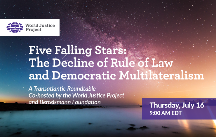 The Decline of Rule of Law and Democratic Multilateralism Webinar
