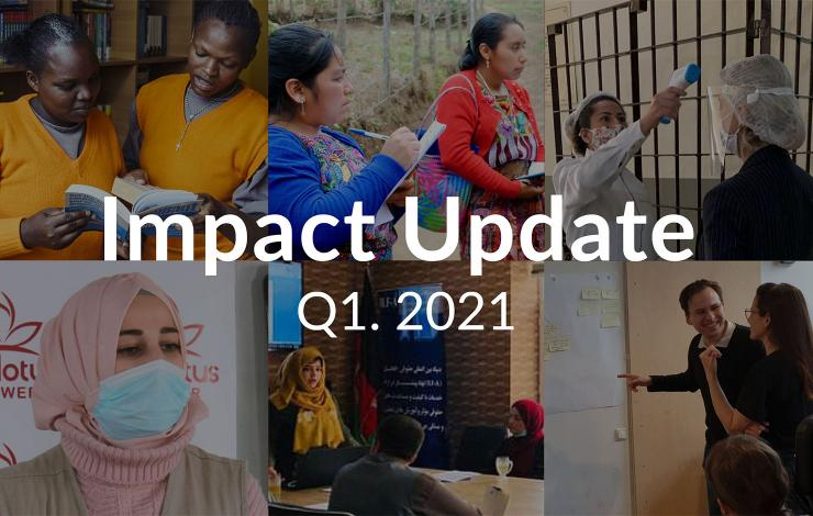 World Justice Project Impact Update Q1 2021