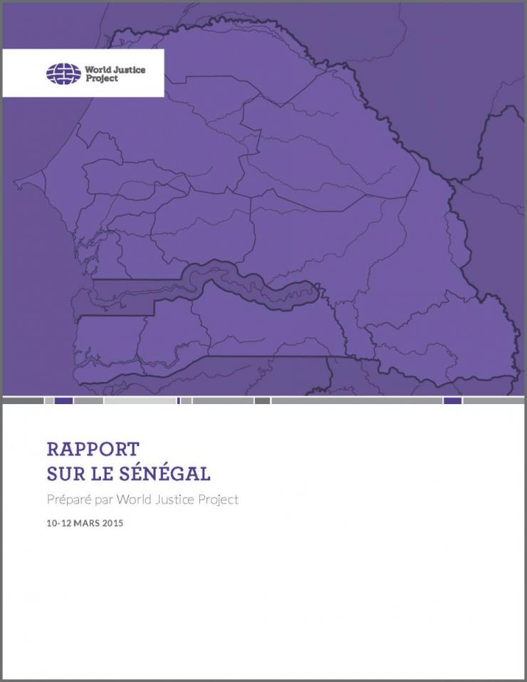 WJP SENEGAL COUNTRY REPORT