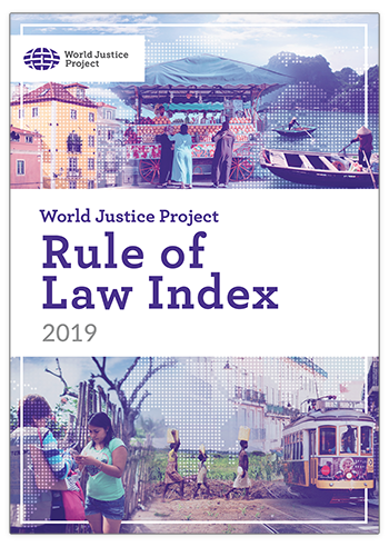 WJP Rule of Law Index 2019 cover