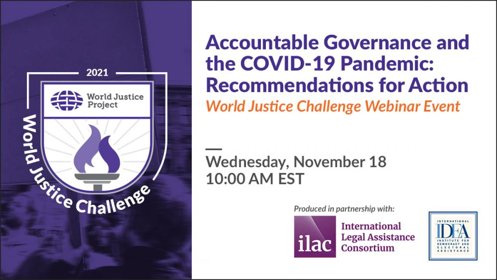 Accountable Governance and the COVID-19 Pandemic: Recommendations for Action
