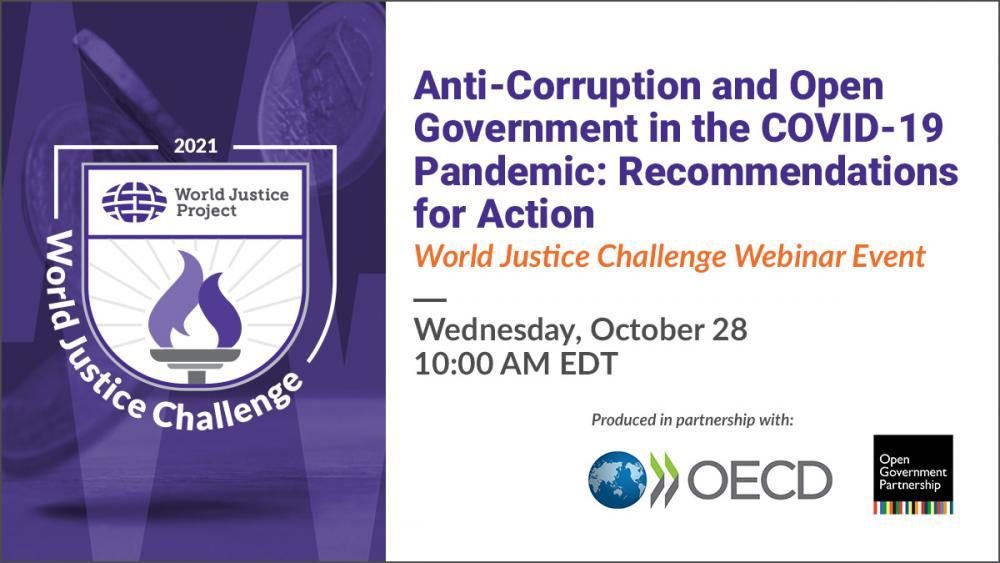 Anti-Corruption and Open Government in the COVID-19 Pandemic: Recommendations for Action